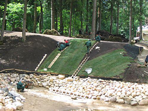 Особенности травосмесей для укрепления склонов