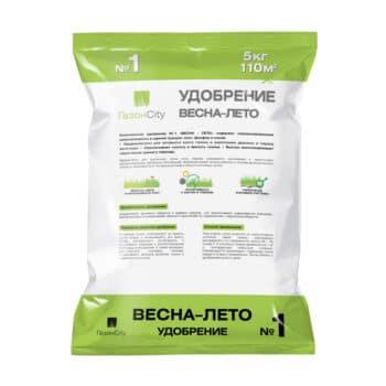 Удобрение для газона ВЕСНА-ЛЕТО № 1 - 5 кг