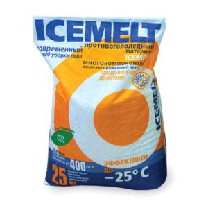 купить противогололедный реагент Icemelt ХКНМ, 25кг
