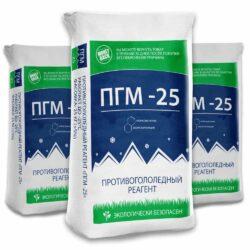 купить противогололедный реагент ПГМ -25, 25кг